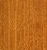 figured makore timber veneer